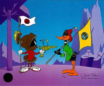 Daffy and Marvin